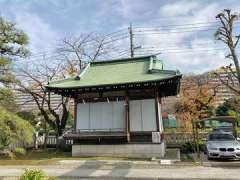 隅田川神社お百度参石
