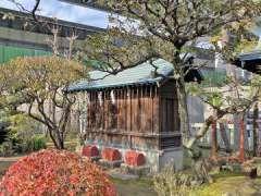 隅田川神社境内