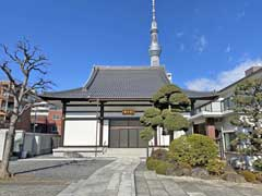 霊山寺本堂