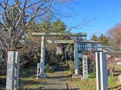 久保熊野神社鳥居