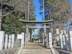 小川熊野神社鳥居