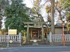 虎狛神社鳥居
