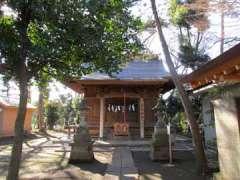 虎狛神社社殿