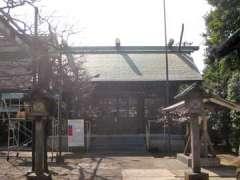 国領神社社殿
