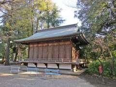 布多天神社神楽殿