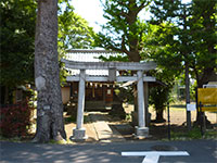 菊野台八剱神社鳥居