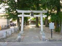 駒井日枝神社鳥居