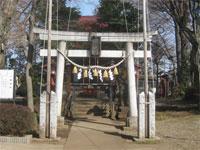仙川八幡神社鳥居