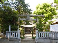 金子厳島神社鳥居