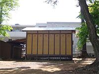 金子厳島神社神楽殿
