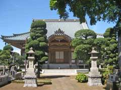 梅岩寺本堂
