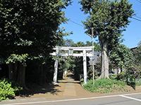 中里氷川神社鳥居