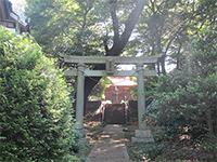 野塩八幡神社鳥居
