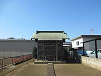 下宿白山神社社殿
