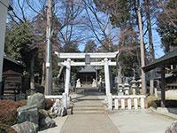 奈良橋八幡神社鳥居