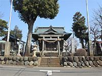 狭山神社鳥居