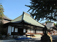 宗禅寺本堂