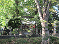 五ノ神社鳥居