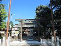 神明神社(羽村)鳥居