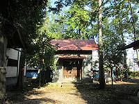 神明神社(羽村)山車庫
