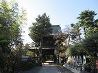 高安寺山門