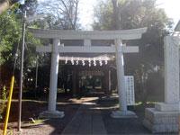六所八幡神社二鳥居