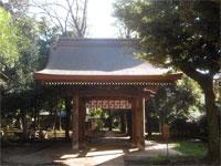 六所八幡神社神門