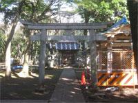六所八幡神社三鳥居