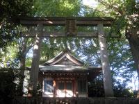六所日吉神社鳥居