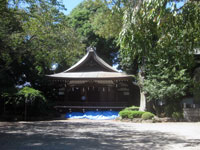 大国魂神社神楽殿