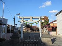 府中熊野神社鳥居