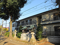 府中熊野神社境内神社