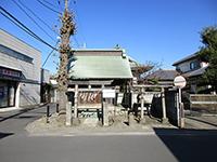 本村神社拝殿