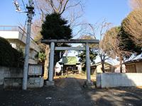 車返八幡神社鳥居