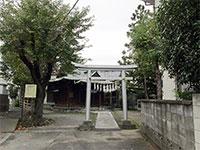 間島神社鳥居