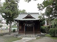 間島神社社殿