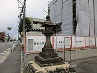 元谷保村の常夜燈