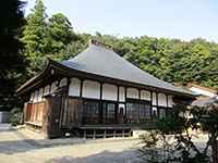 斟珠寺本堂