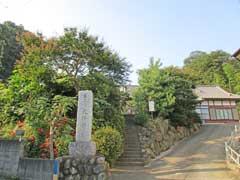 大林寺参道