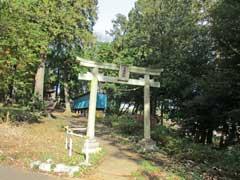 堀ノ内愛宕神社鳥居