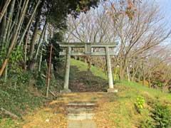 越野日枝神社鳥居