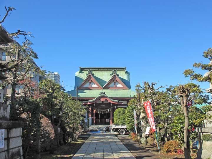 八幡八雲神社|八王子市元横山町の神社