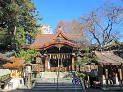 子安神社社殿