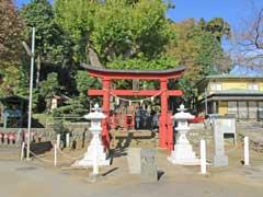 東中野熊野神社鳥居