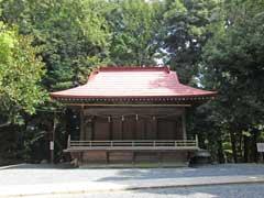 中山白山神社神楽殿