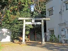 大和田日枝神社鳥居