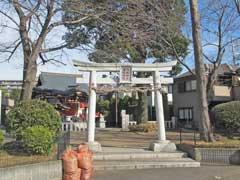 関根神社鳥居