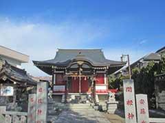 関根神社社殿