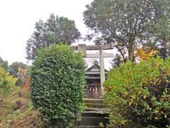 尾崎八幡神社鳥居
