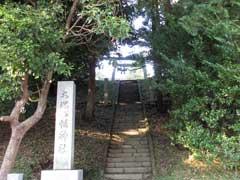 大塚八幡神社鳥居